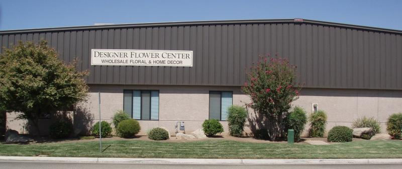 Designer Flower Center showroom/warehouse